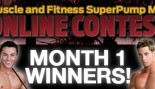 Month 1 Muscle & Fitness SuperPump Max Online Contest Winners! thumbnail
