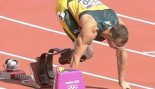 Olympic Moment for the Ages: Double Amputee Oscar Pistorius Competes in the 400m thumbnail