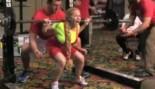 Senior Female Weightlifter Uses Unique Squatting Technique  thumbnail