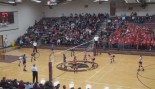 Volleyball Spike Wipes Out Player and Spectator thumbnail