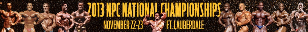 2013 NPC National Bodybuilding Championships