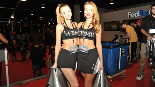 Hot Girls Galore at the 2015 Olympia Expo thumbnail