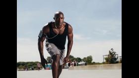 Man running with an iPod thumbnail
