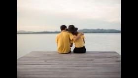 Romantic Couple on Dock thumbnail