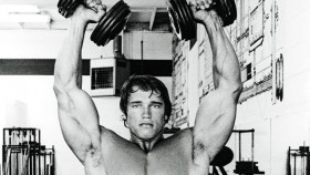 Arnold Schwarzenegger Shoulder Workout thumbnail