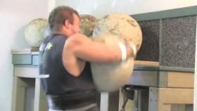 Strongman Lifting Atlas Stones Video Thumbnail
