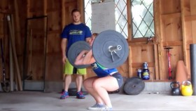 XTreme Training Tip - Touch and Go Squat Cleans Video Thumbnail