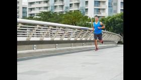 Asian Man Running thumbnail
