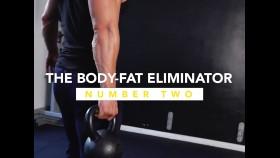 Muscular Man Holds Kettlebell During Fat-Burning Workout thumbnail