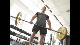 Man performs deadlift exercise thumbnail