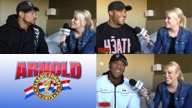 Arnold Europe Pre-Contest Interviews thumbnail