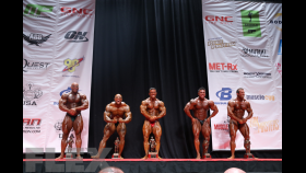 Men's Bodybuilding Super Heavyweight Awards thumbnail
