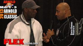 Darrem Charles before the 2013 Arnold Classic thumbnail