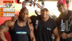 DJ on Training Marcus, Toney & Johnnie for the Arnold thumbnail