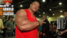 Roelly Winklaar at the 2013 Arnold Classic Expo thumbnail