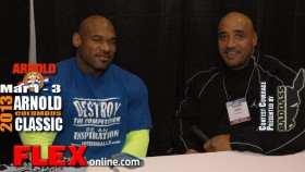 Fred Smalls before the 2013 Arnold Classic thumbnail