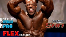 Ed Nunn after '13 Australian Pro Pre-Judging thumbnail