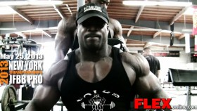 Branden Ray Shoulder Work 10 Weeks from 2013 NY Pro thumbnail
