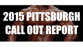 2015 IFBB Pittsburgh Pro Pre-Judging Call Out Report thumbnail