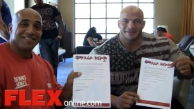 Dennis James & Big Ramy Sign with Gorilla Wear thumbnail