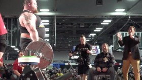 Eddie Hall Sets World Record With 1,025-Pound Deadlift thumbnail