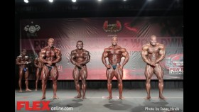 Dennis James' Open Bodybuilding Prejudging Assessment at the 2014 Tampa Pro thumbnail