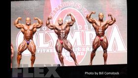 2014 Olympia Men's Open Bodybuilding Pre-Judging Call Out Report thumbnail