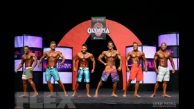 2014 Olympia Men's Physique Pre-Judging Call Out Report thumbnail
