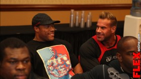 The 2013 Mr. Olympia Athlete Meeting thumbnail