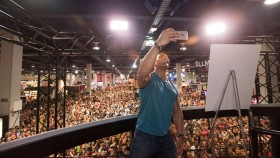 The Rock Makes an Epic Appearance at the Olympia Expo thumbnail