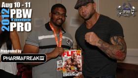 MMA Superstar Dave Bautista at 2012 PBW thumbnail