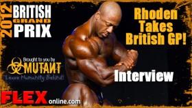 Shawn Rhoden Winner Interview at 2012 British GP thumbnail