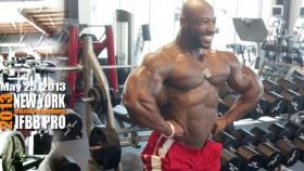Darron Glenn Back Workout 5 Weeks from NY Pro thumbnail