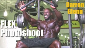 Darron Glenn Flex Magazine Photoshoot thumbnail