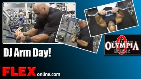 Dennis James Arm Workout for 2012 Master Olympia thumbnail