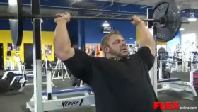 IFBB Pro Justin Compton Chest and Shoulder Workout thumbnail