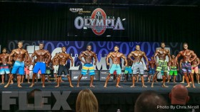 2017 Olympia Men's Physique Call Out Report thumbnail