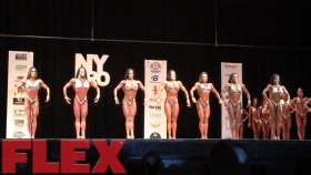2017 IFBB New York Pro Figure Call Out Video Report thumbnail