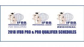 2018 IFBB Pro League PRO and PRO QUALIFIER Schedules thumbnail