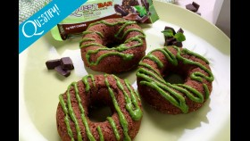 RECIPE: High Protein Mint Chocolate Donuts thumbnail