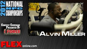 Alvin Miller Trains for 2012 NPC Nationals thumbnail