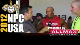 2012 NPC USA's Interview after Prejudging with Nick Trigili thumbnail