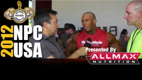 2012 NPC USA's Interview after Prejudging with Nick Trigili thumbnail