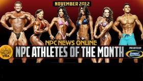 NPC and Gaspari Announce Nov 2012 Athletes of the Month thumbnail
