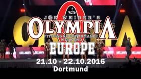 2016 Joe Weider's Olympia Europe Video Thumbnail