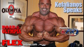 Kefalianos Room Interview Before 2012 Olympia thumbnail