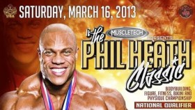 Catch All 2013 Phil Heath Classic Updates Here thumbnail