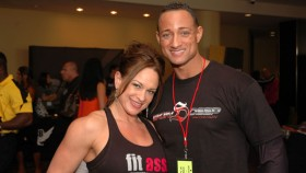 Terry Placker and IFBB Pro Jenny Worth at the NPC Jr.Nationals thumbnail