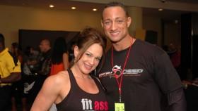 Terry Placker and IFBB Pro Jenny Worth at the NPC Jr.Nationals thumbnail