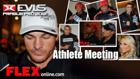 Prague Pro Athlete Meeting Candids Posted! thumbnail
